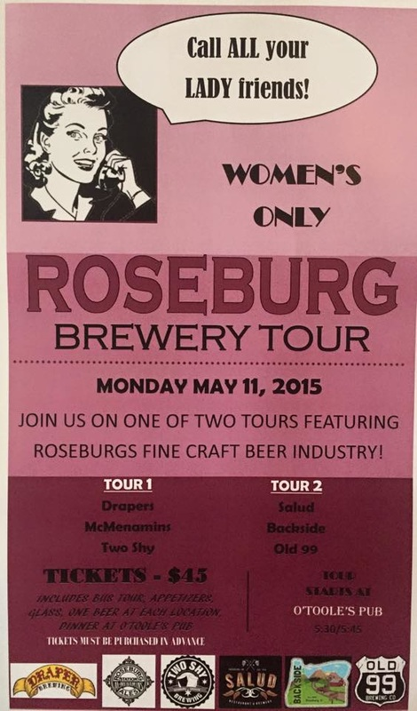 Women's Brewery Tour Poster