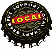 Buy Local Beer bottle cap