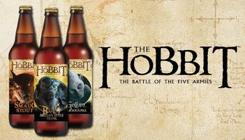 The Hobbit Series of Beers