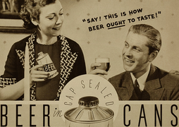 Beer Can Ad