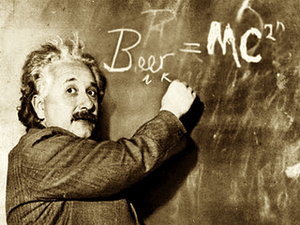 Beer = MC Squared