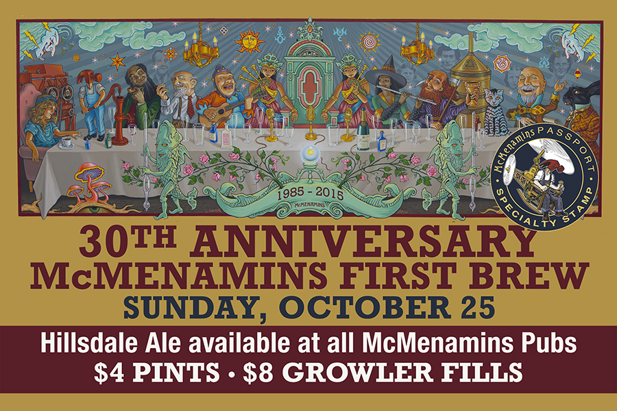 30th Anniversary of First McMenamins Brew