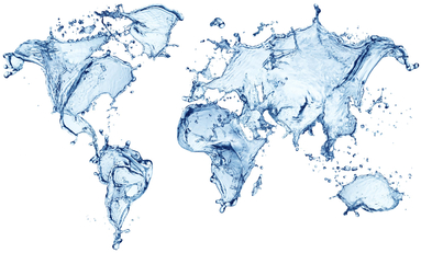 Water World Map